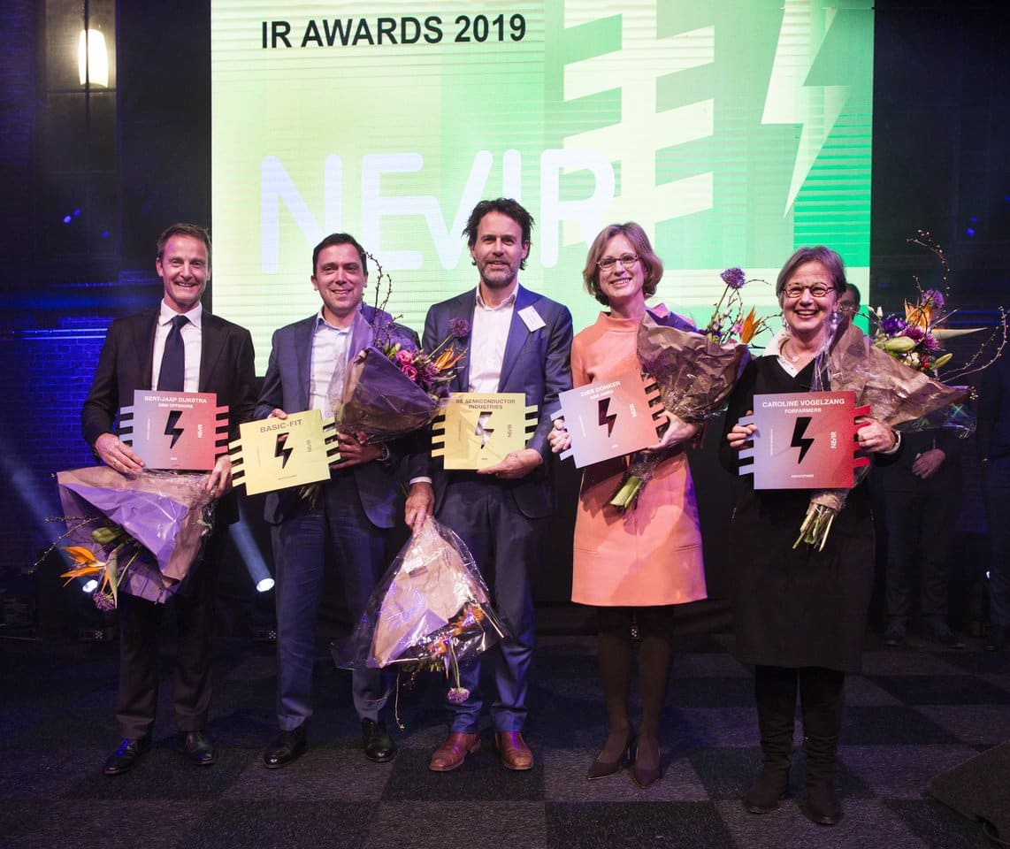 Winners of the NEVIR Dutch IR Awards 2019